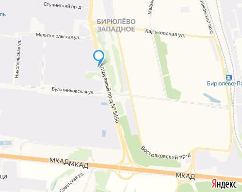 Адрес компании «Ави» Москва, Мелитопольская, улица, 1к 2