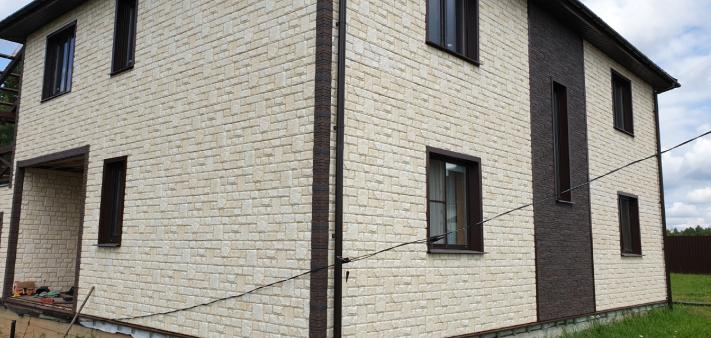 Фасадные панели GL «Я-Фасад» Екатерининский камень (Слоновая кость)