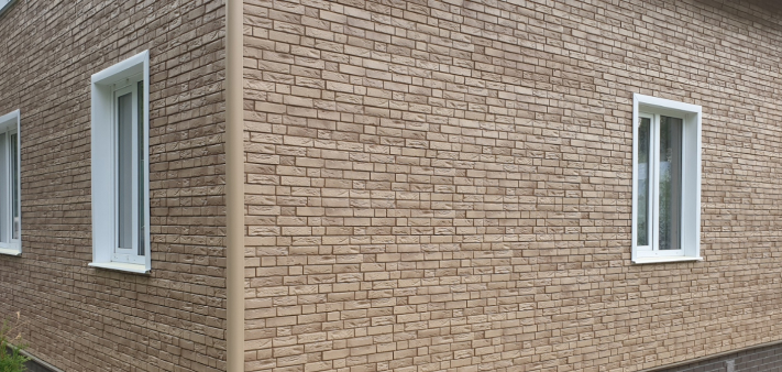 Фасадные панели GL «Я-Фасад» Демидовский кирпич (Янтарь)