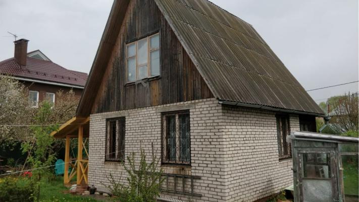 Дом до отделки сайдингом