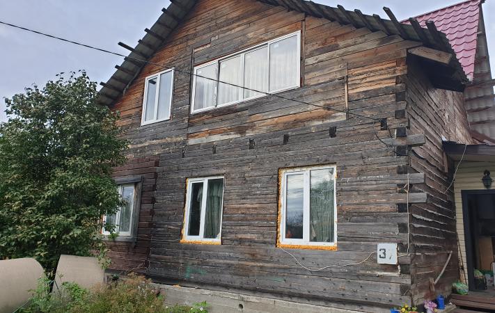 Дом до комплексной отделки