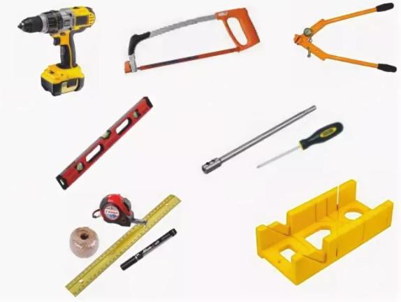 Набор инструментов для монтажа водосточной системы