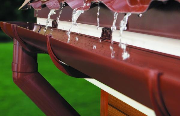 Пластиковая конструкция для оттока воды