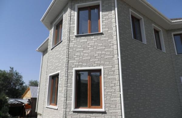 Рисунок фасадных панелей Solid Sandstone