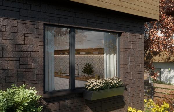 Фасадные панели VOX Solid Sandstone